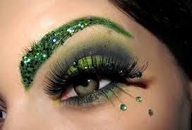 Maquillaje de Ojos para Año Nuevo, parte 4