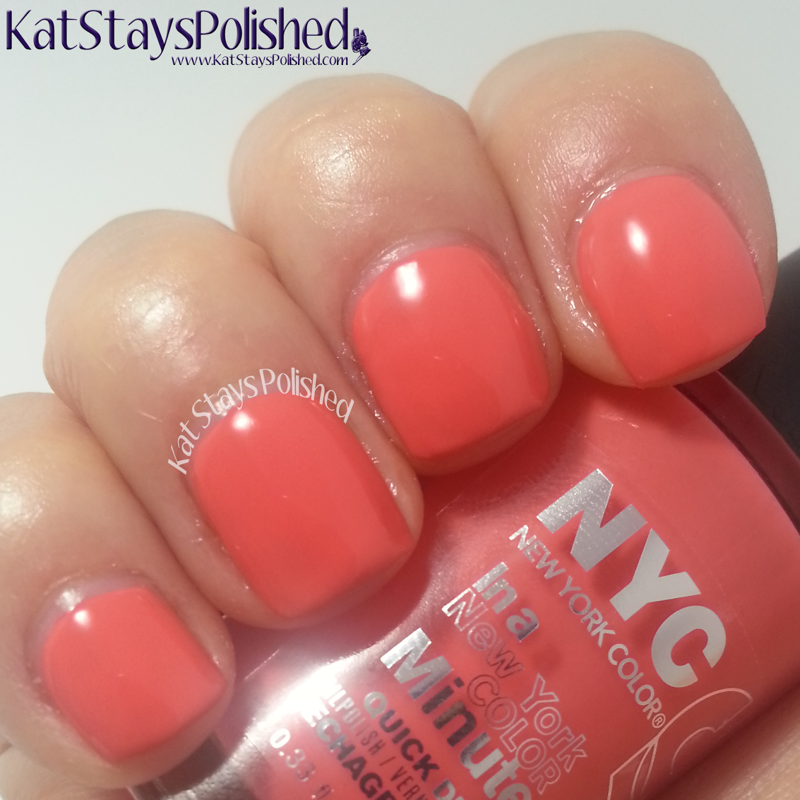 NYC New York Color - City Samba - Tropicoral | Kat Stays Polished