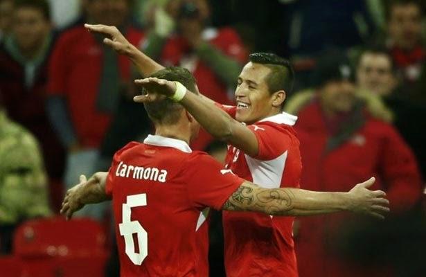 Chile vs australia 3:1 Pialadunia 2014