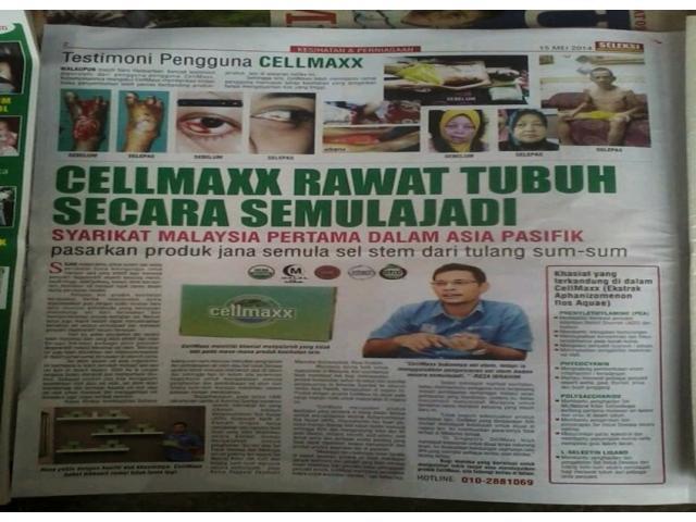 Cellmaxx Rawat Tubuh Secara Semulajadi