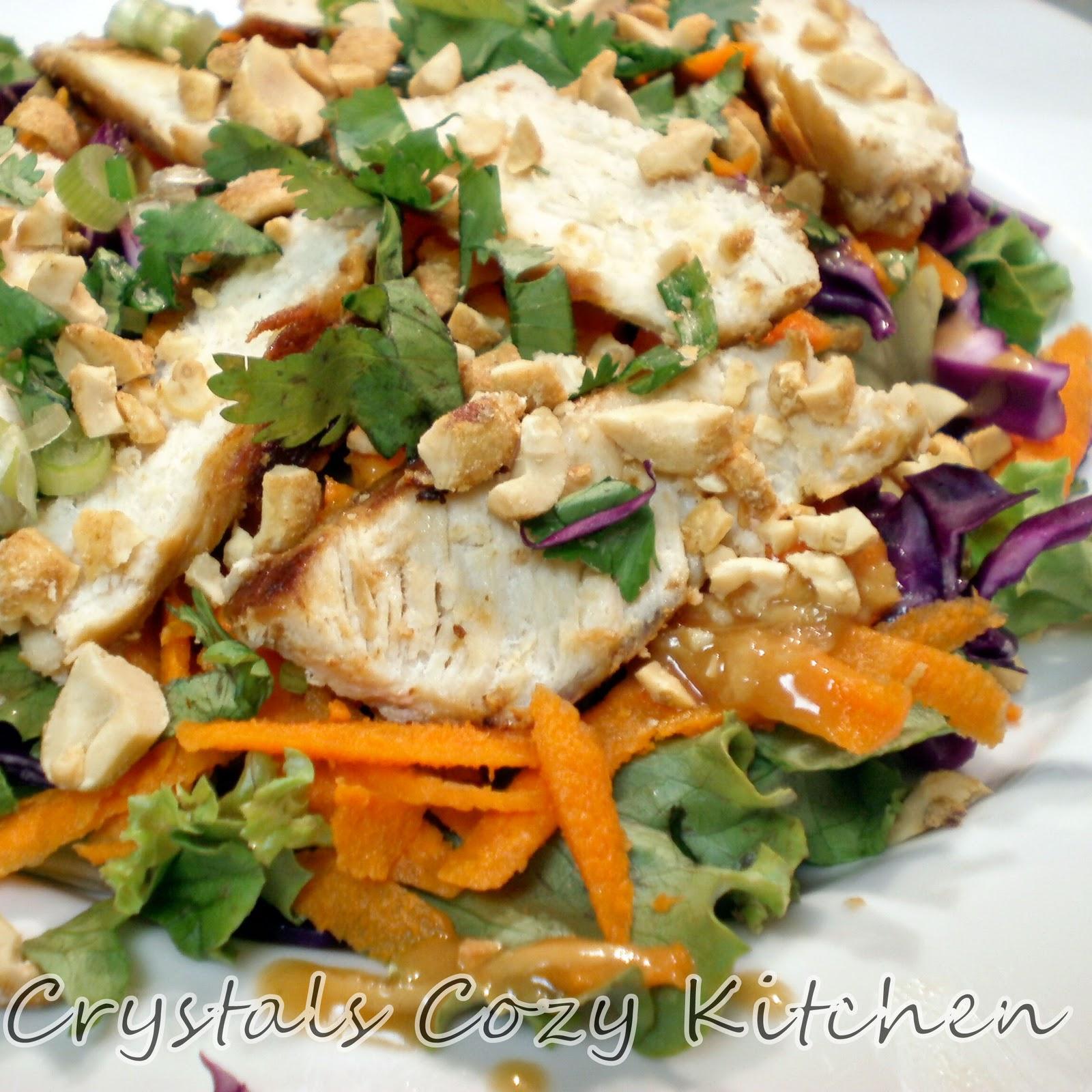 Crystal's Cozy Kitchen: Chinese Chicken Salad