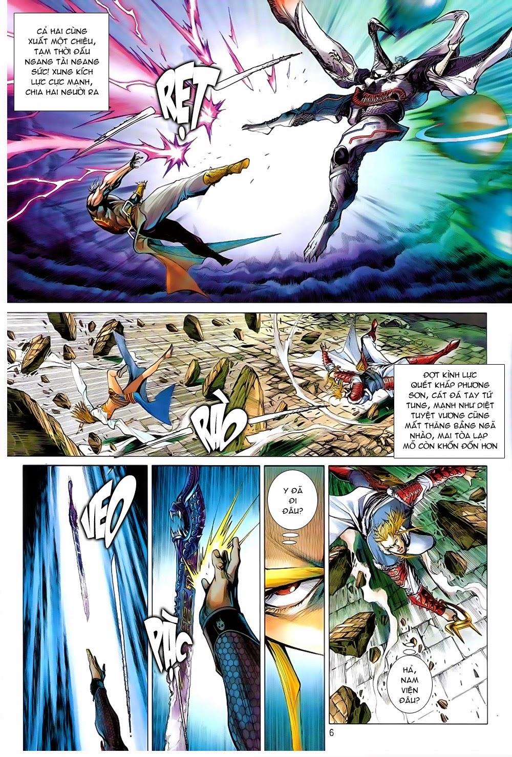 truyện tranh thiết tướng tung hoành Chapter 82/