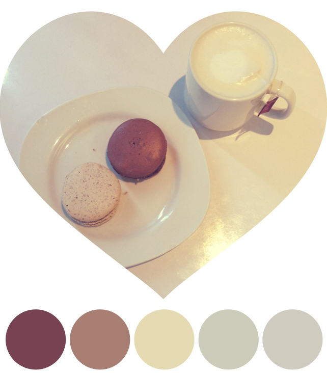 Color Schemes Inspired by Coffee