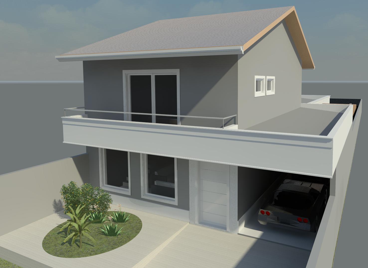 Arquitetura e decora o fernanda alves - Pinturas para fachadas exteriores fotos ...