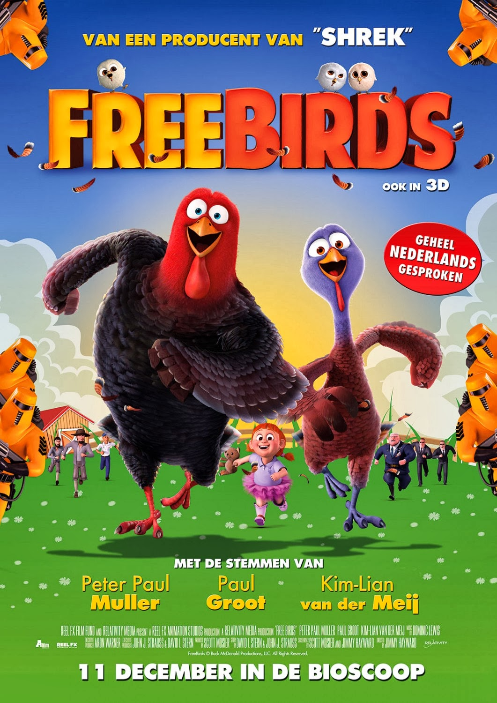 Free Birds (Vaya pavos) (2013)