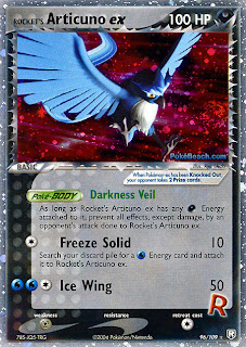 Rocket's Articuno EX Team Rocket Returns Pokemon Card Set
