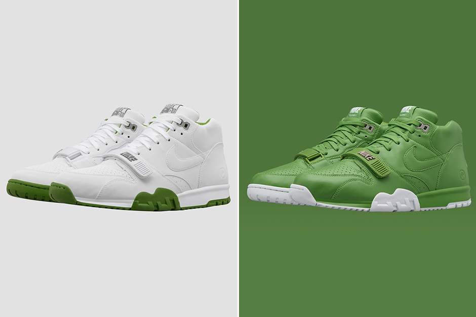 online store ff7cb 4828e ... it didn t stop Nike from collaborating with Fragment Design for an  exclusive European release-only of the Nike Court Air Trainer 1 Mid s in a  classic