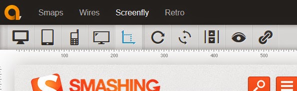 Screenfly responsive design testing tool