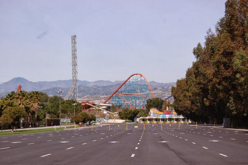 Six Flag Magic Mountain, Los Angeles