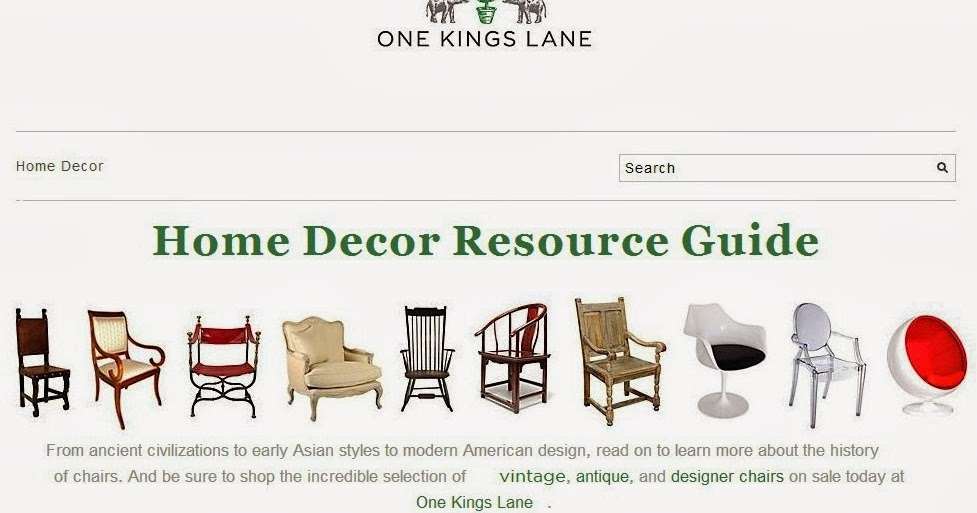 Duo Ventures Favorite Statement Chair One Kings Lane