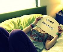 Mi mejor mañana, la que desperte a tu lado.