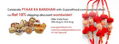 Raksha Bandhan – Celebrate your Pyaar ka Bandhan with GujaratFood.com