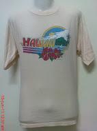 vtg hawaii polytees 1987