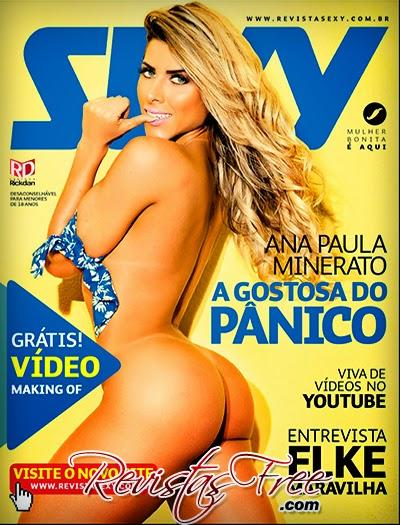 Revista Sexy - Ana Paula Minerato - Agosto 2014