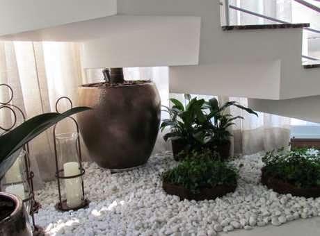 canteiro de plantas