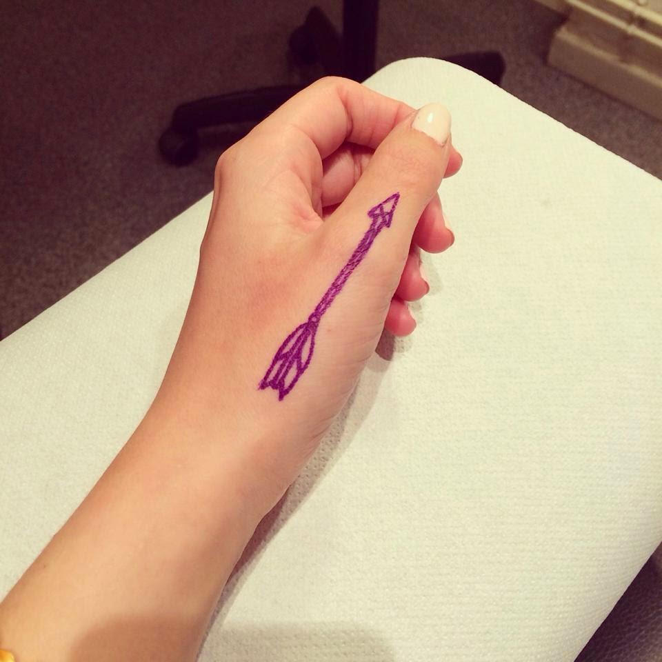 tatouage d amitie flèche