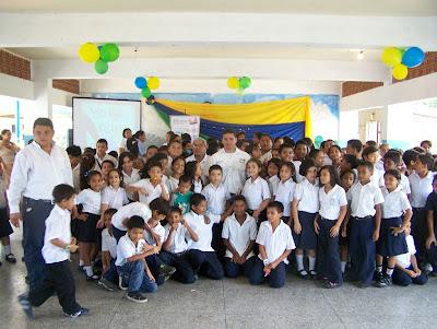 """Proyecto """"Yo Amo Apure"""" visitó por segunda vez  la Agustín Codazzi  en San Fernando"""
