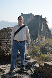 Tom Savage at the Great Wall at Lianyunling