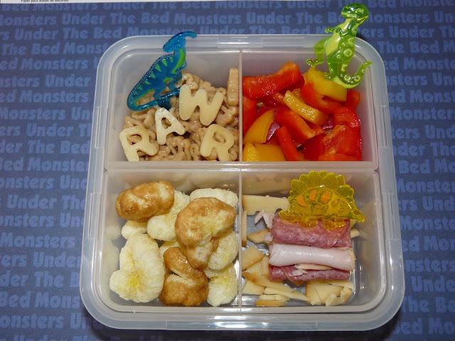 dinosaur bento lunch locknlock