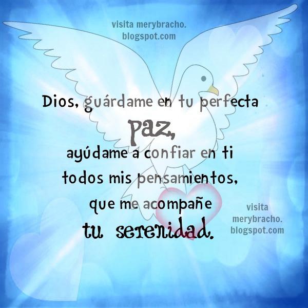 Poderosa Oración Dios dame tu protección, paz y bendición   Entre ...