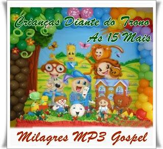 Download CD Crianças Diante do Trono   As 15 Mais
