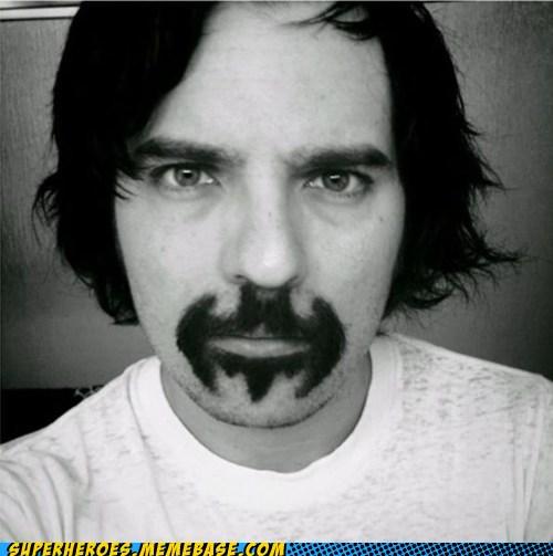 batman, bigode, mustache, eeeita coisa