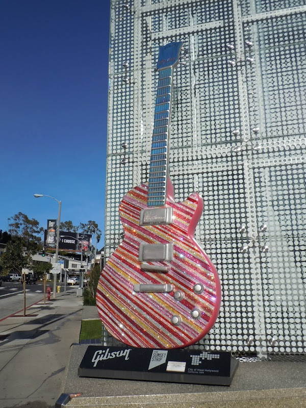 Katy Perry Candy Stripe Guitar
