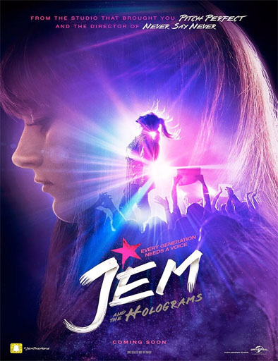Jem And The Holograms (Jem y Los Hologramas) (V.O.S) (2015)