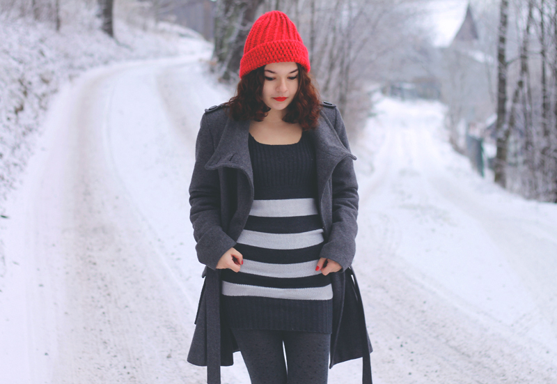 paski stripes sukienka
