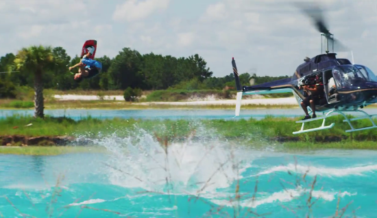 This is the trailer for the epic new wakeboard film'Defy The Danny Harf