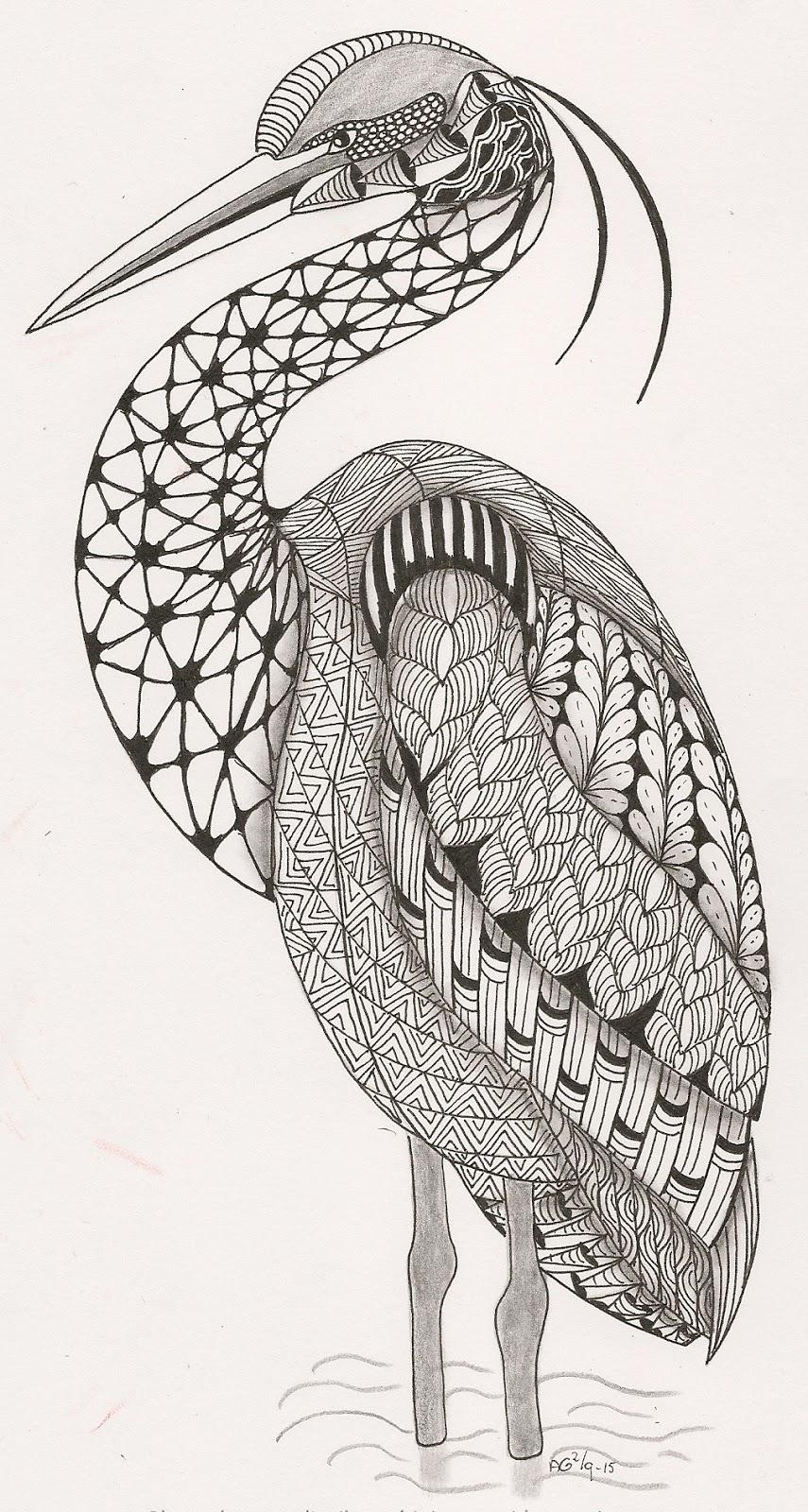 Zentangle Animals On Pinterest