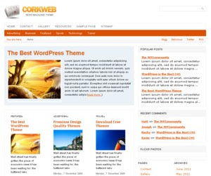 CorkWeb WordPress Theme