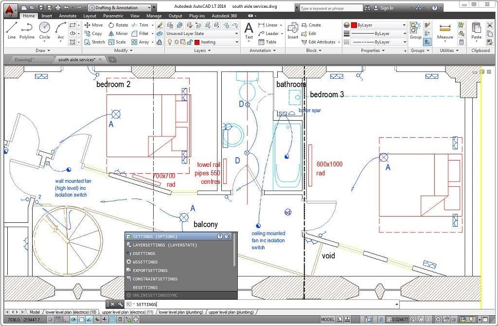 AutoCAD LT 2015 System Information