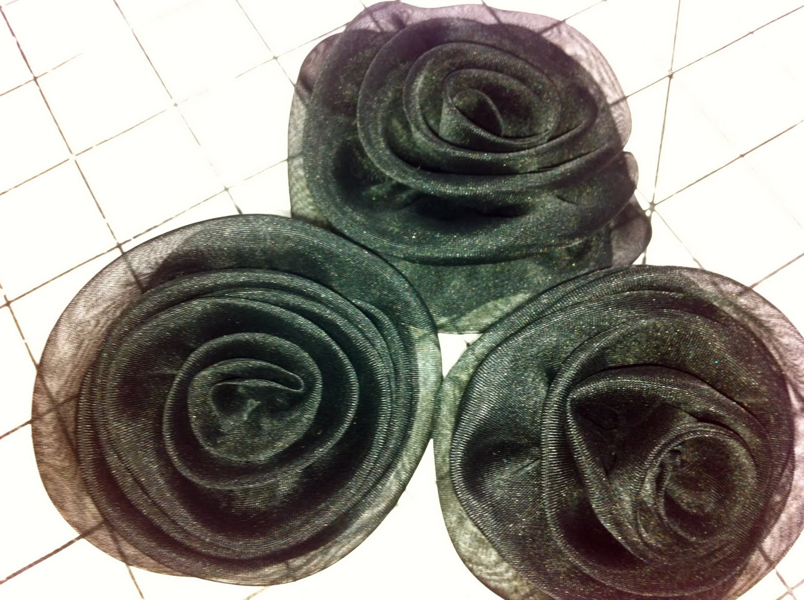 How to make a fabric rose