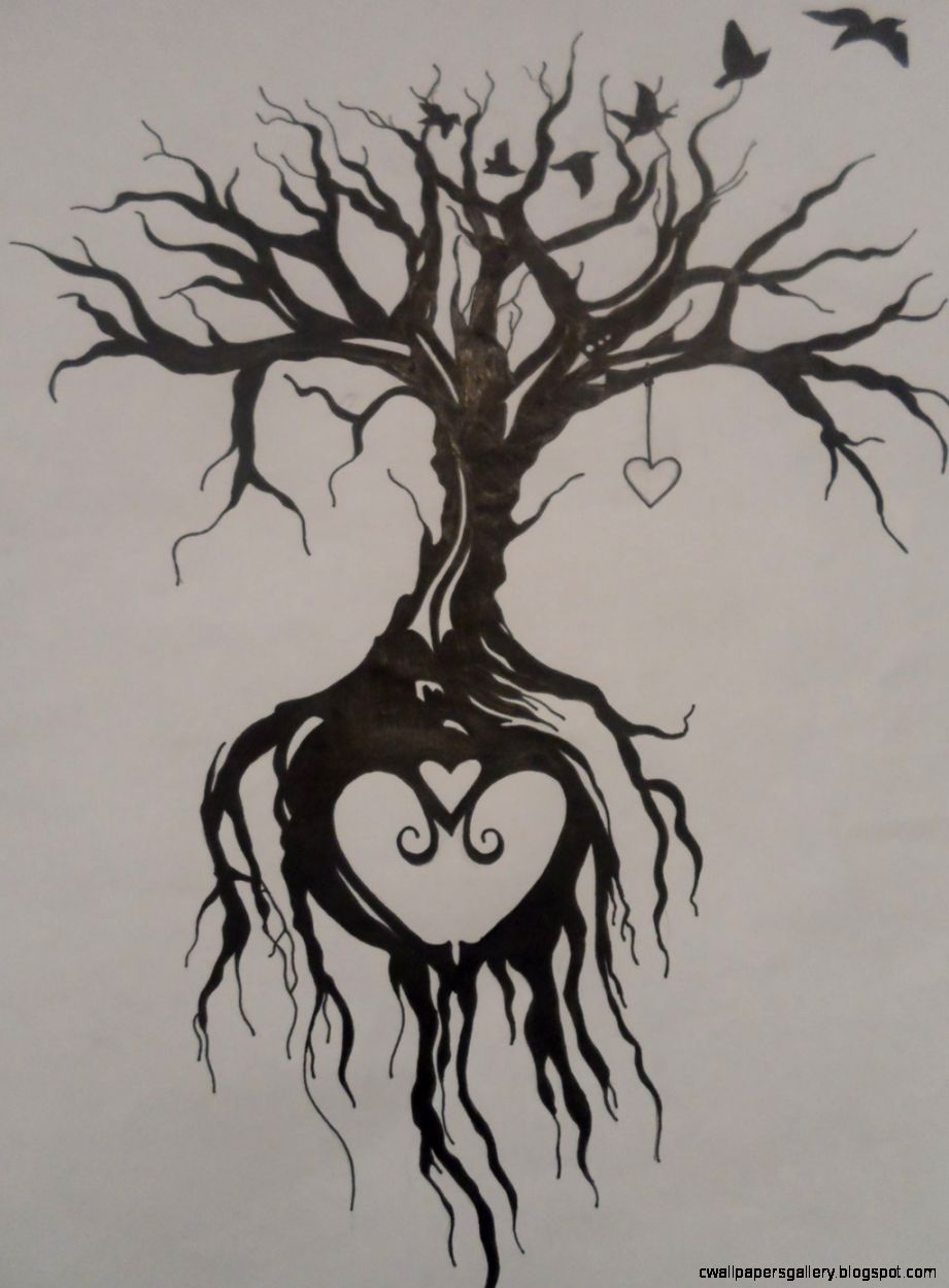 45 Tree Of Life Tattoo Designs