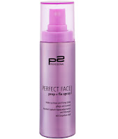 p2 Neuprodukte August 2015 - perfect face prep + fix spray - www.annitschkasblog.de