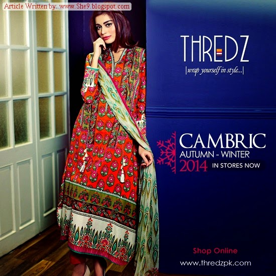 Thredz Winter-Fall Dress Collection 2014-2015