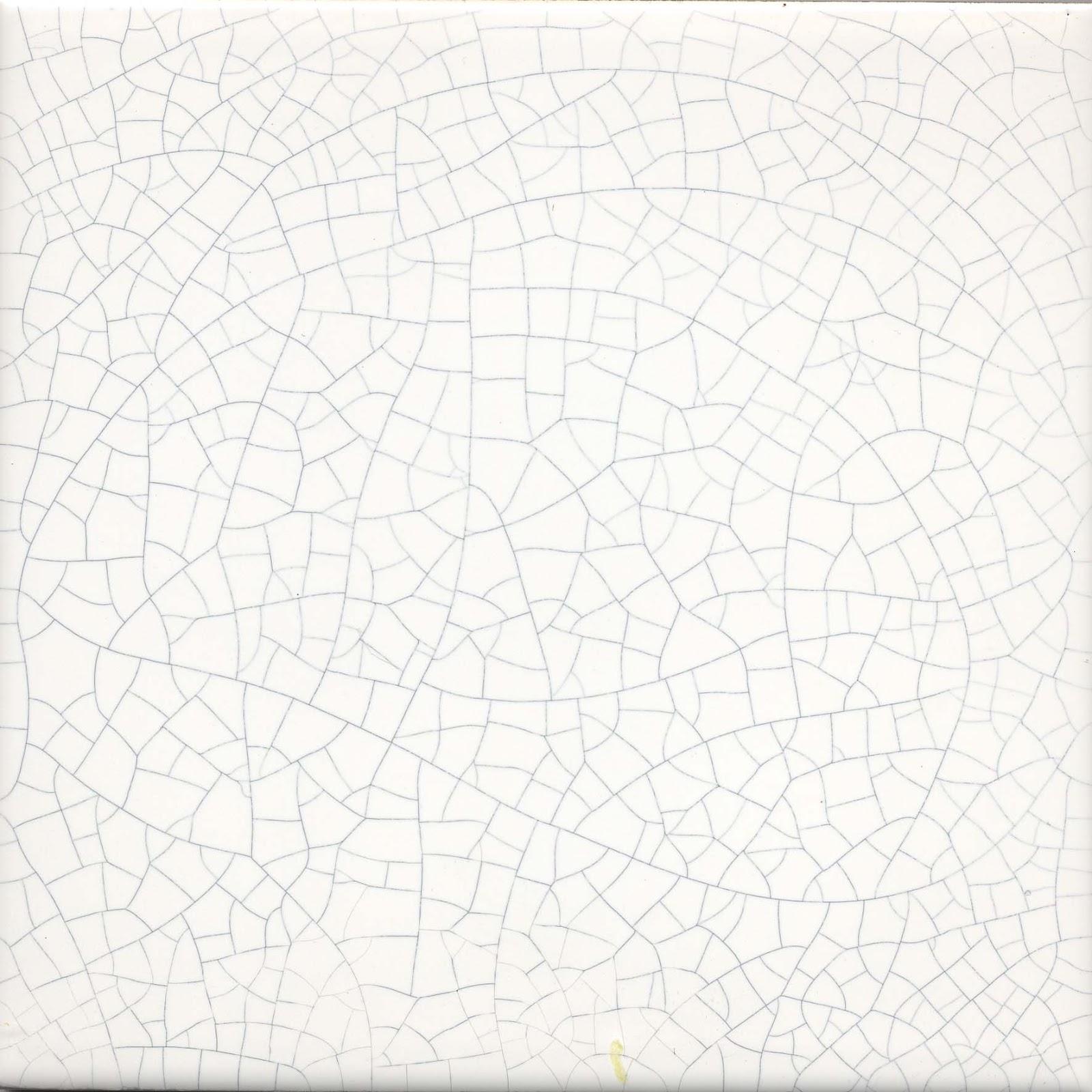 Craquelure crackle glaze tiles