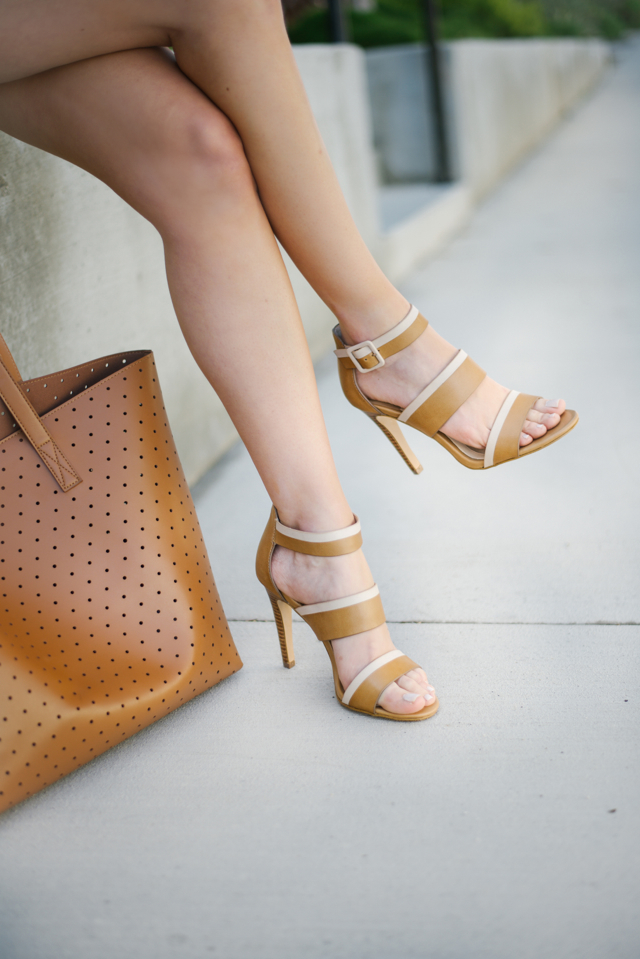 brown strappy sandals Isola M Loves M @marmar