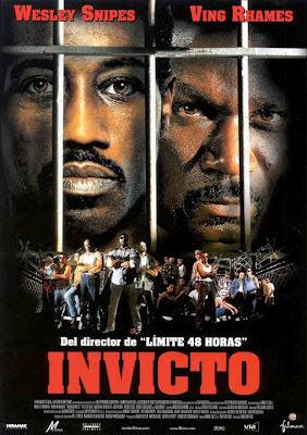 Portada de la película Invicto