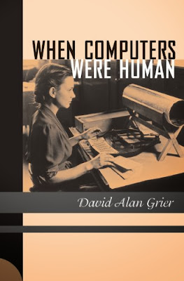 When Computers Were Human. Cover shows an operator of a Pantograph Card Punch for creating cards that could be read in the Hollerith Tabulating Machine