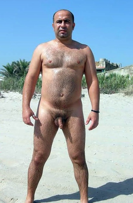 Think, naked old men on beach you have