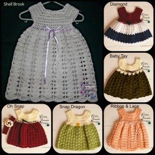 Crochet Dress pattern Crafting Friends Designs