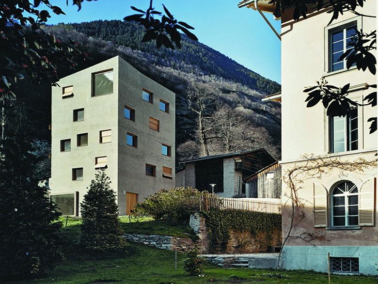 Miller maranta extension villa garbald castasegna for Extension villa