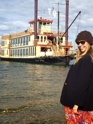 Lake Tahoe, Tahoe Queen, Boat, Fashion, Autumn, Nautical, Captain