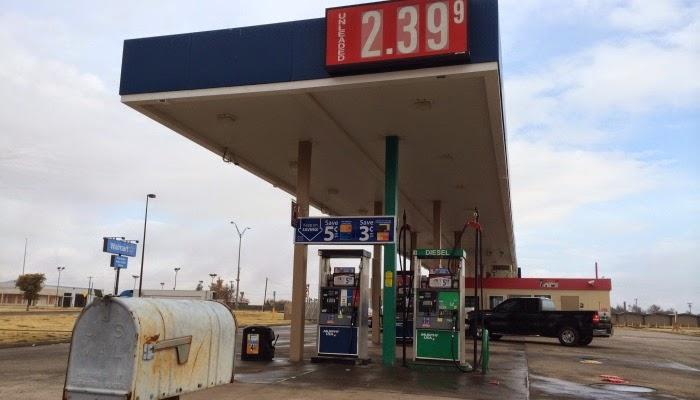 benzin priser i usa, her amarillo i texas