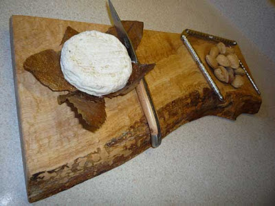 Handcrafted Wooden Serving Board by Stinson Studios