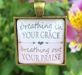 Breathing in Grace.....