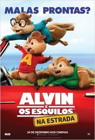 Alvin e os Esquilos 4: Na Estrada – Dublado (2015)