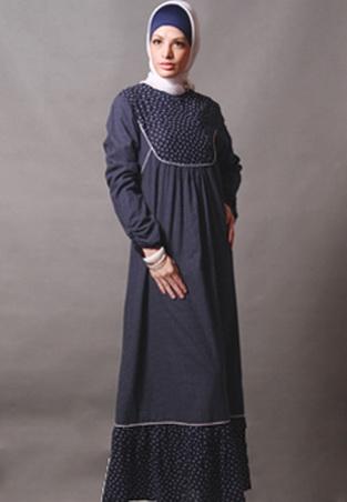 Gambar Model Baju Gamis 381